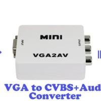 SKU-1017 CONVERTER VGA TO AV / VGA TO RCA