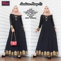 Baju gamis arabian turkey maxi matt slogi/gamis abaya terbaru