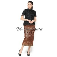 Rok Songket Batik Madame Rabbit Gold Pesta Jahit Berkualitas
