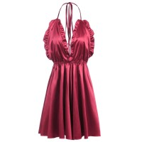TF Sexy Lingerie Babydoll | Lingerie Import | Dress Red