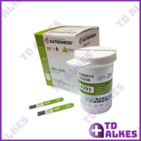 Autocheck Test Uric Acid Strip Cek Asam Urat Refill Isi 25 Auto Check