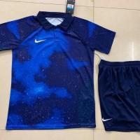 Seragam Setelan Jersey Baju Futsal Bola Nike Galaxy CR 7