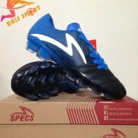 Murah Sepatu Bola Specs Equinox FG Black Tulip Blue 100822 Original