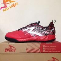 Grosir Sepatu Futsal Specs Metasala Warrior Premier Red Black 400779