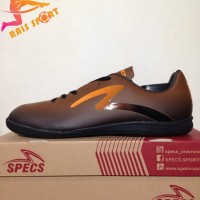 Terlaris Sepatu Futsal Specs Eclipse IN Black Bitter Brown 400676