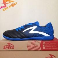 Terlaris Sepatu Futsal Specs Equinox IN Black Tulip Blue 400772