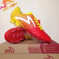 Grosir Sepatu Bola Specs Equinox FG Emperor Red Yellow 100794