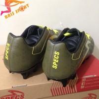 Promo Sepatu Bola Specs Quark FG Olive Zest Green 100828 Original