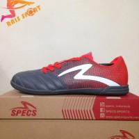 Promo Sepatu Futsal Specs Equinox IN Dark Granite Red 400771