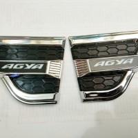 Toyota AGYA Side Vent Activo/Aksesoris Toyota Agya Air Flow Samping
