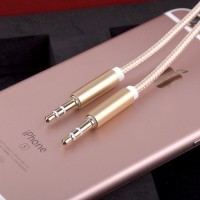 1M Kabel AUX 3.5mm High Quality Jack Audio Line Male to Male For Smart