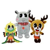 Boneka Maskot Asian Games Boneka SET Kaka,Atung,Bhin-bhin 12''