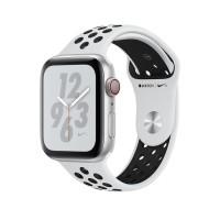 APPLE Watch Nike+ Series4 MU6K2ID/A GPS44mmSilverPlatinum/BlackNikeSpt