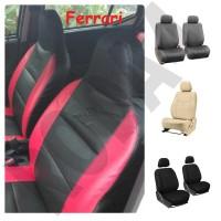 Seat Cover - Sarung Jok Mobil Bahan Ferrari All New CRV Turbo 2017