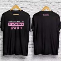 kaos Baju Tshirt Pria Wanita BlackPink Distro KPOP Korean