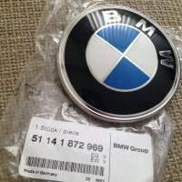 Original BMW E28 E30 E36 Logo Emblem Badge Bagasi belakang mobil