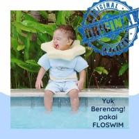 Go swim/Floswim CuddleMe Size S/Baju Pelampung Bayi / Baju Renang Anak - Biru Muda