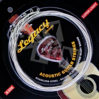 Senar Gitar Akustik Strings Legacy (Bonus Pick) A306 Super Light