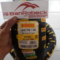 Ban Belakang pirelli angel scooter aerox dan pcx 140/70-14