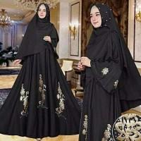 Gamis / Baju / Setelan Wanita Muslim Julia Syari + Hijab Good Quality