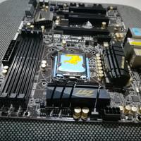 Motherboard Intel Asrock Z77 Extreme 4 tanpa backpanel
