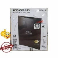Anten Toyosaki AIO 220 Digital Analog Outdoor Indoor Free 10M Kabel