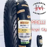 Paket Ban Tubless Angel City Uk 70 90 - 80 90 Ring 17 For motor bebek