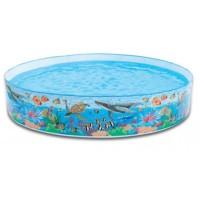 kolam renang besar snapset pool244 cm tanpa di tiup anak dan keluarga