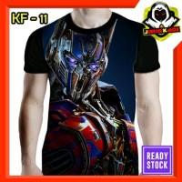 Kaos Optimus Prime Transformers Movie Baju Karakter Film Murah Bahan
