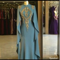 Baju Busana Muslim Wanita Gamis Cape Casebo / Maxi Alda Tosca Terbaru