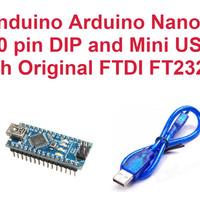 ARDUINO NANO V3 Compatible High Quality Module FTDI Serial Com + kabel