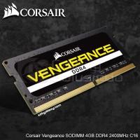 Memory Ram Laptop Corsair Vengeance SODIMM 4GB DDR4 2400MHz