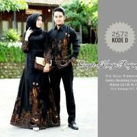 Baju Batik Couple Gamis Model Terbaru Sarimbit Keluarga Seragam