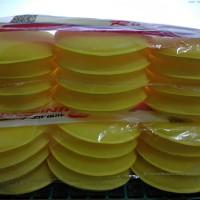 Aplicator pad Busa waxing Busa Poles mobil atau motor warna kuning
