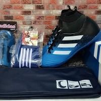 paket komplit sepatu futsal adidas junior size 33-37