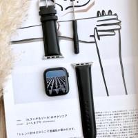 Strap Leather Kulit Apple Watch Series 2 3 4 38mm 40mm 44mm 42mm IWO 8
