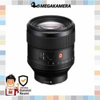 Sony Lens FE 85mm F1.4 GM - Lensa Sony G Master