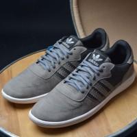 Sepatu Kets Adidas Neo Zoom Casual Running Man Pria Grade Ori Grey