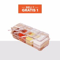 StarHome Rak Tempat Bumbu Seasoning Box Serbaguna 4 in 1 Arklirik BUY