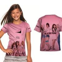 Baju / Kaos / T Shirt Anak Perempuan Blackpink Seri 04