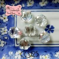 High Quality Manik Kristal Dual Color Crystal Bahan Gelang Bros Juntai
