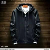 jaket hoodie pria baju laki laki hoody hitam biru tua navy anak remaja