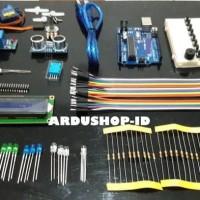 Starter Kit Arduino - UNO R3 Compatible DIP Paket Untuk Pemula