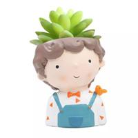 Aolvo Dream Boy Succulent Pot 1
