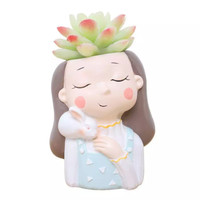 Aolvo Dream Girl Succulent Pot 3