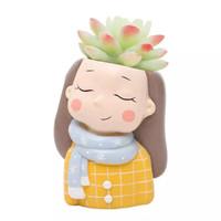 Aolvo Dream Girl Succulent Pot 2