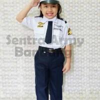 baju / seragam pilot anak / kostum karnaval