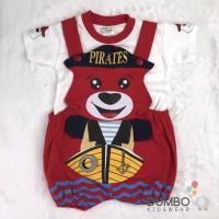 Baju kodok jumper bayi baby bear pirates beruang terbaru setelan