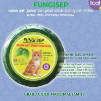 Sabun Kucing Anti Jamur Bahan Herbal FUNGISEP
