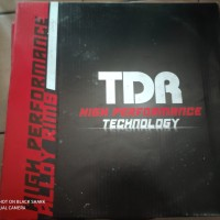 Velg TDR W/WX-Shape(Kotak) Ring 17 x140-140 Biru Dark,Merah